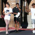 Exclusif - Katie Holmes et son compagnon Jamie Foxx sont allés à leur cours de gym à Atlanta le 17 septembre 2018