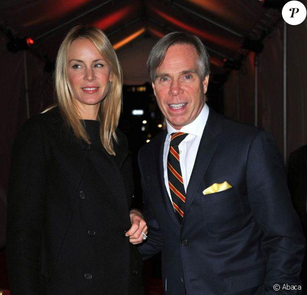 Tommy Hilfiger et sa femme Dee