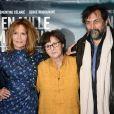 """Clémentine Célarié, Véronique Mériadec, Serge Riaboukine - Avant-première du film """"En Mille Morceaux"""" à Paris le 1er octobre 2018."""