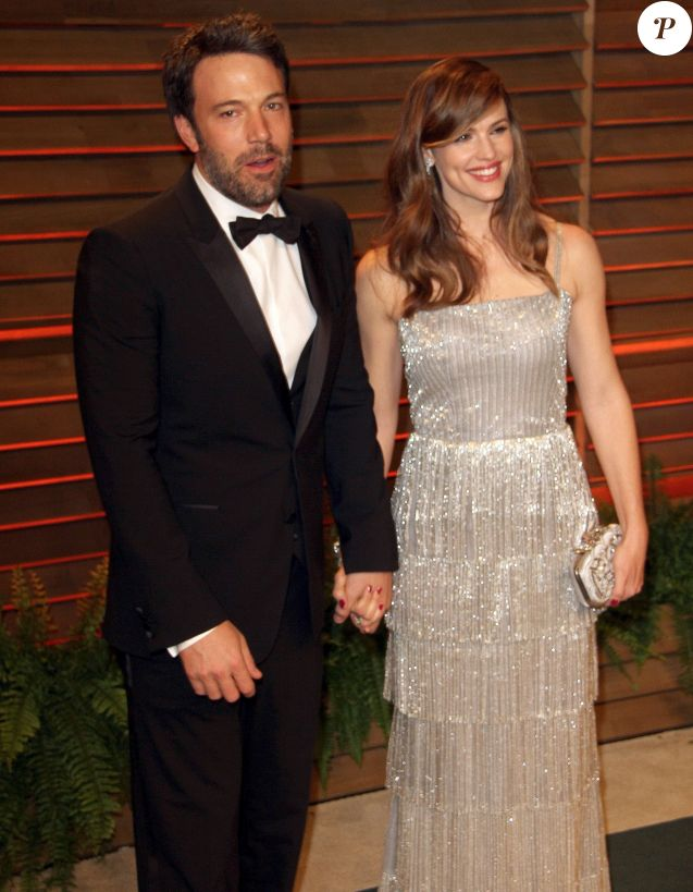 Ben Affleck, Jennifer Garner - Arrivées des people à la soirée Vanity Fair après la 86 ème cérémonie des Oscars le 2 mars 2014