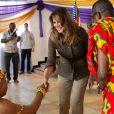 Melania Trump en voyage officiel au Ghana, le 3 octobre 2018.