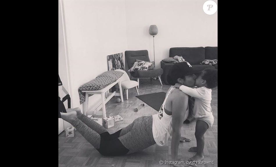 Cynthia Brown et sa fille complices sur Instagram, 18 septembre 2018