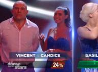 DALS 9 : Vincent Moscato et Candice Pascal éliminés, Basile Boli saisissant