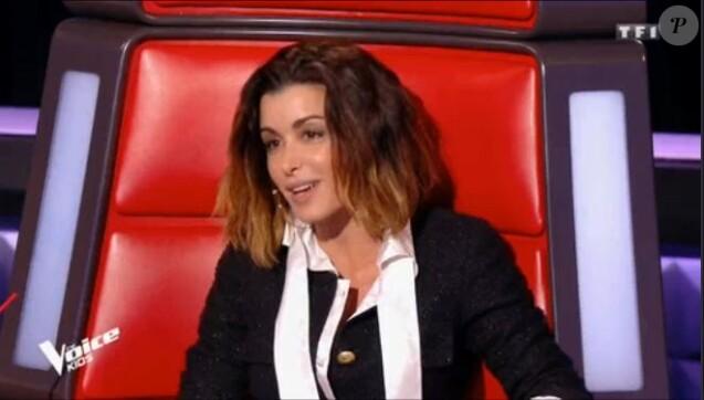 Jenifer dans The Voice Kids 5 vendredi 12 octobre 2018 - TF1