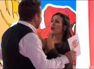 Les Z'amours : Une candidate se jette et hurle sur Bruno Guillon en finale