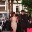 Clotilde Courau et Guillaume Depardieu à Cannes en 1997.