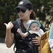 Eva Longoria : Quatre mois de bonheur intense avec son adorable petit Santiago