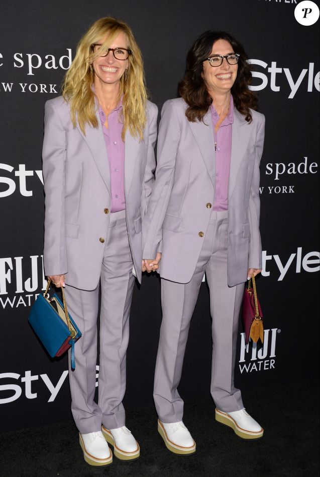 Julia Roberts et Elizabeth Stewart - People à la soirée InStyle Awards au Getty Center à Los Angeles, le 22 octobre 2018.