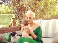 Brigitte Nielsen, 55 ans : Maman gaga de Frida, qui fête ses 4 mois