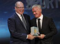 Didier Deschamps honoré à Monaco, sa femme Claude sophistiquée en blanc
