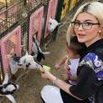 Kylie Jenner avec sa fille Stormi. Photo publiée sur Instagram le 24 octobre 2018.