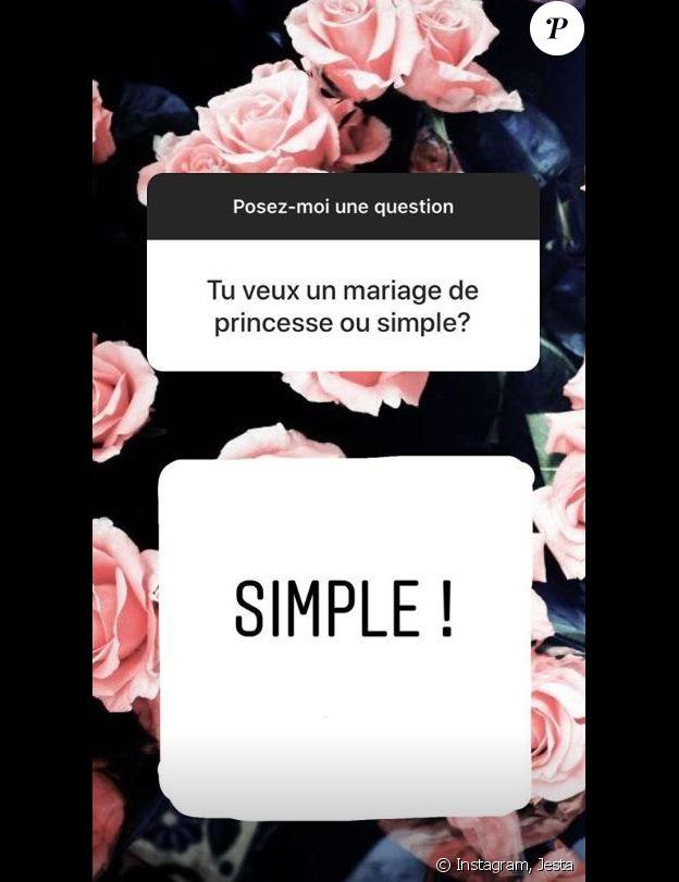 Jesta répond aux questions de ses fans, Instagram, 1er novembre 2018