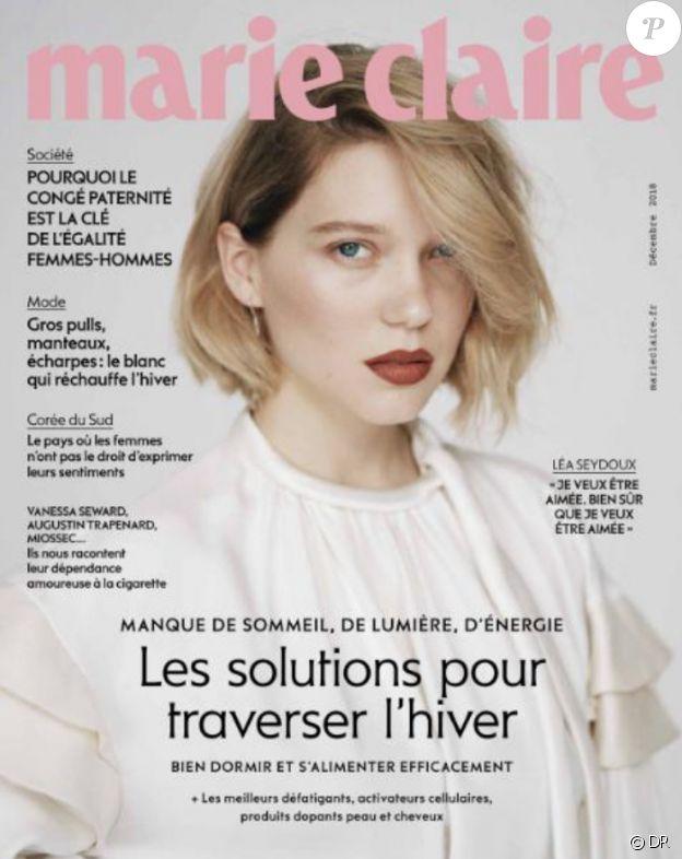 Marie Claire, en kiosques le 7 novembre 2018.
