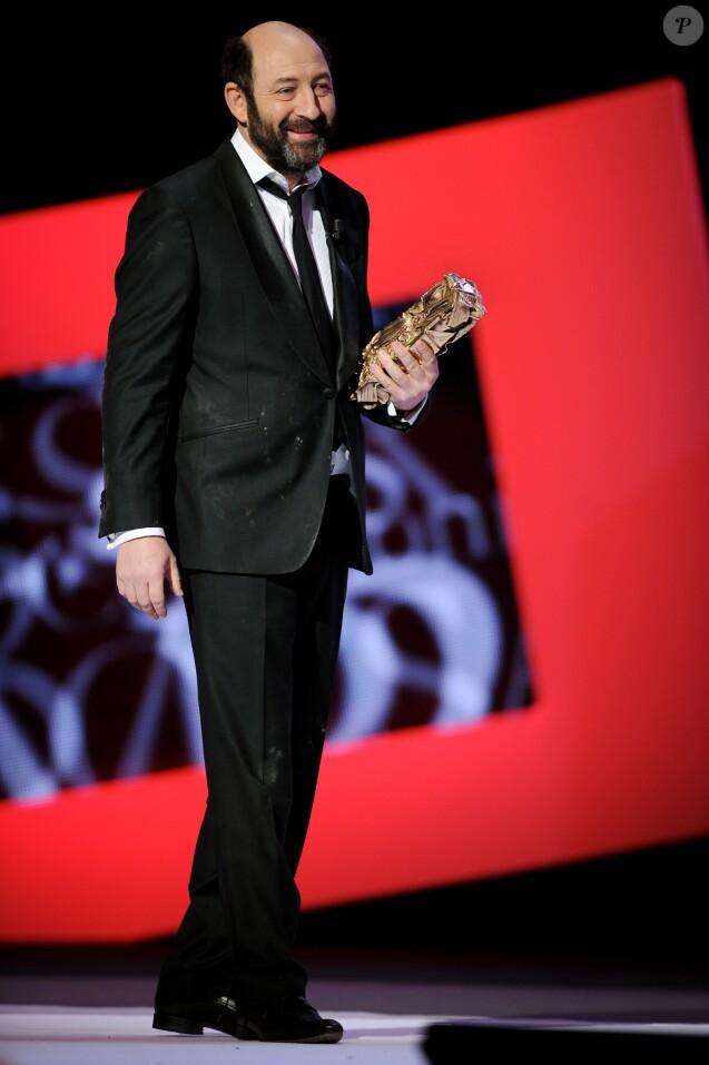 Kad Merad à la 37e cérémonie des César, le 24 février 2012.