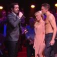 """Pamela Anderson dans """"Danse avec les stars 9"""", émission du jeudi 8 novembre 2018."""