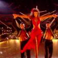 """Iris Mittenaere dans """"Danse avec les stars"""", émission du jeudi 8 novembre 2018."""
