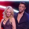 """Pamela Anderson, éliminée de """"Danse avec les stars"""" 9, émission du jeudi 8 novembre 2018."""