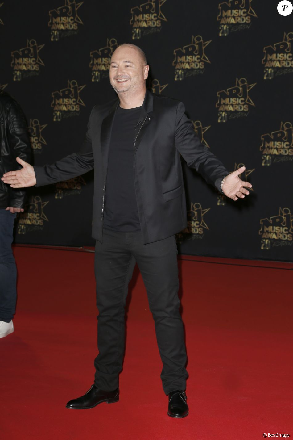 Sébastien Cauet - 20ème cérémonie des NRJ Music Awards au Palais des Festivals à Cannes. Le 10 novembre 2018 © Christophe Aubert via Bestimage