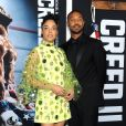 "Tessa Thompson et Michael B. Jordan assistent à l'avant-première de ""Creed 2"" au AMC Loews Lincoln Square à New York, le 14 novembre 2018."