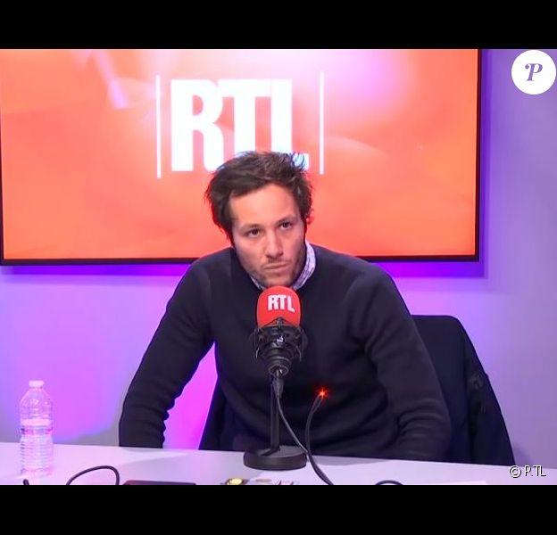 """Vianney dans l'émission """"On refait la télé"""" sur RTL le 17 novembre 2018."""