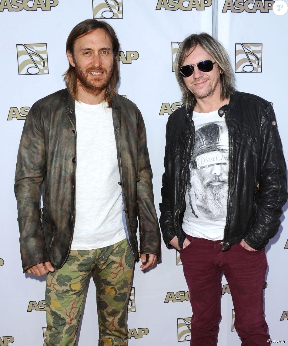 Fred Riesterer et David Guetta aux ASCAP Pop Music Awards à Los Angeles, le 17 avril 2013.