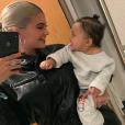 Kylie Jenner et sa fille Stormi. Novembre 2018.