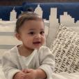 Stormi Wesbter, la fille de Kylie Jenner, prononçant ses premiers mots. Novembre 2018.
