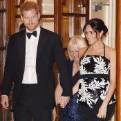 Meghan Markle enceinte de 4 mois : Radieuse au bras d'Harry au théâtre
