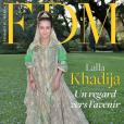 La princesse Lalla Khadija du Maroc, 11 ans, en couverture du numéro de novembre 2018 du mensuel FDM - Femmes du Maroc.