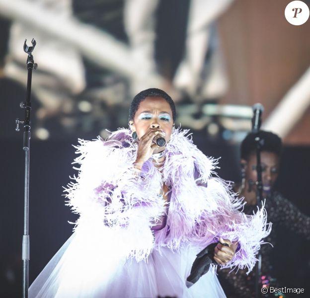 Concert de Lauryn Hill à Las Vegas Le 07 Septembre 2018 Las Vegas, NV - Lauryn Hill performs at The Joint at Hard Rock Hotel & Casino in Las Vegas.