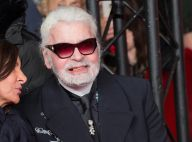 Karl Lagerfeld sourit... et révèle sa bouche édentée, des images inattendues !
