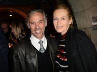 Estelle Lefébure et Paul Belmondo : Joyeuses retrouvailles en soirée parisienne