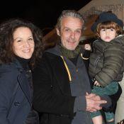 David Brécourt : Soirée de Noël en famille avec Alexandra et leur petit Mathurin