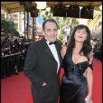 Lio et son compagnon Jean-François Lepetit pour la montée des marches du Festival de Cannes le 18 mai 2009