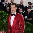 Andrew Garfield - Les célébrités arrivent à l'ouverture de l'exposition Heavenly Bodies: Fashion and the Catholic Imagination à New York, le 7 mai 2018 © Christopher Smith/AdMedia via Zuma/Bestimage