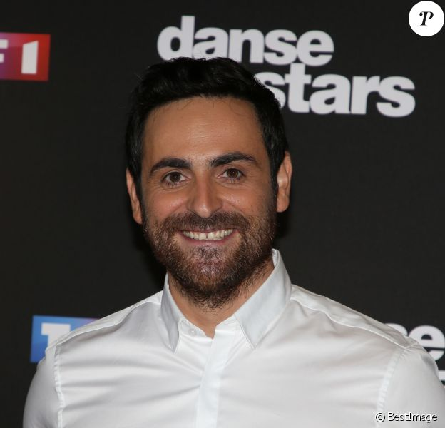 "Camille Combal - Photocall de la saison 9 de l'émission ""Danse avec les stars"" (DALS) au siège de TF1 à Boulogne-Billancourt le 11 septembre 2018. © Denis Guignebourg/Bestimage  hotocall of season 9 of the show ""Dance with the stars"" (DALS) at TF1 headquarters in Boulogne-Billancourt on September 11, 2018.11/09/2018 - Boulogne-Billancourt"