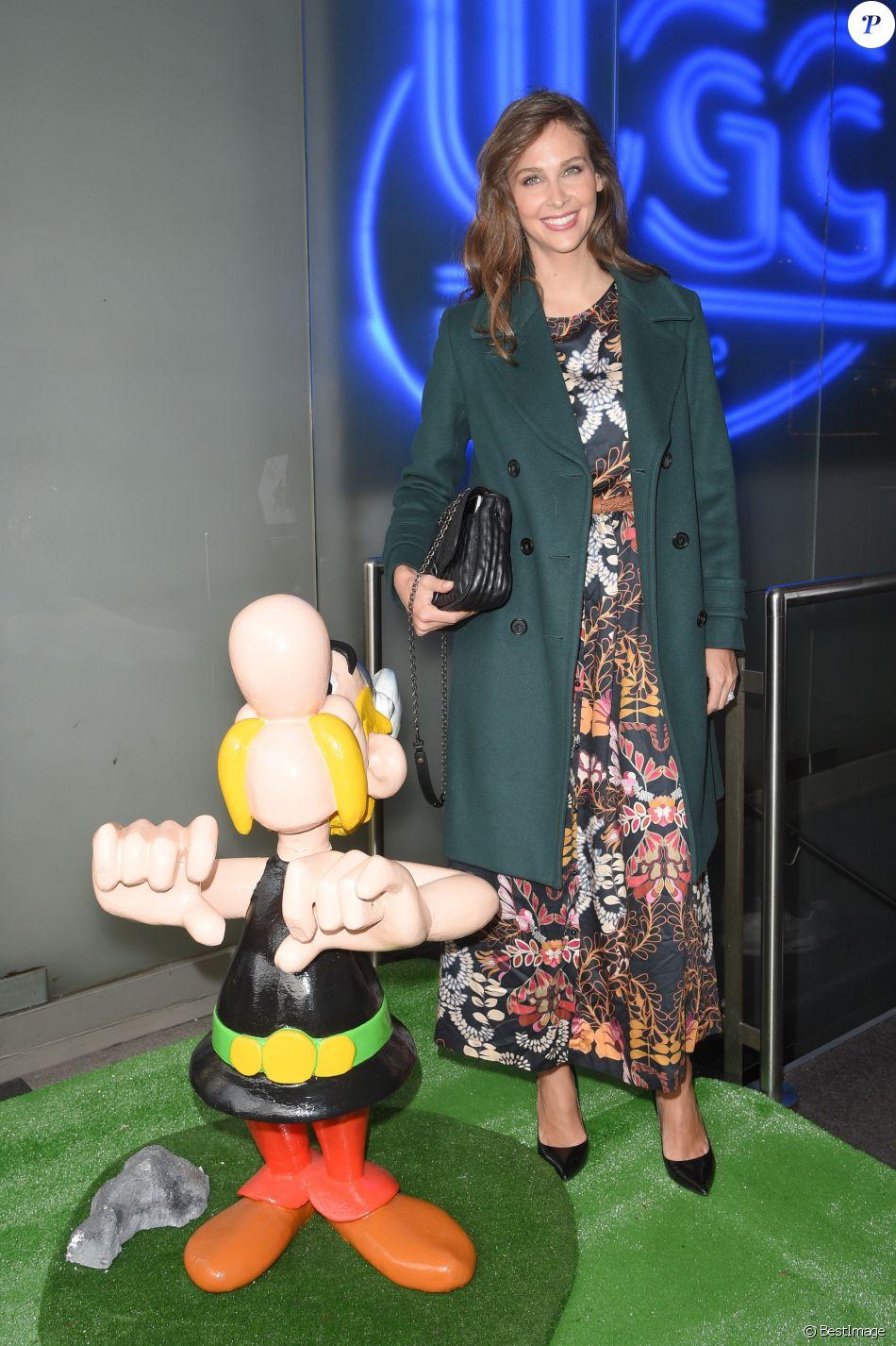"""Ophélie Meunier - Avant-première du film """"Astérix : Le Secret de la potion magique"""" au cinéma UGC Normandie à Paris, le 2 décembre 2018. © Coadic Guirec/Bestimage"""