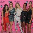 Kelsey Merritt, Josephine Skriver, Romee Strijd, Jasmine Tookes et Lais Ribeiro - Projection du défilé Victoria's Secret aux Spring Studios à New York, le 2 décembre 2018.