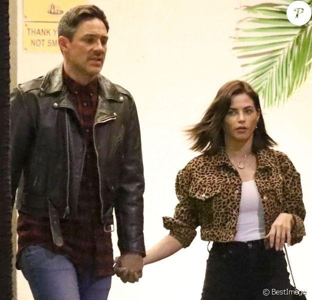 Exclusif - Jenna Dewan et son compagnon Steve Kazee à Studio City, le 25 novembre 2018