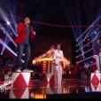 """Les coachs reprennent """"For me formidable"""" de Charles Aznavour - Finale de """"The Voice Kids 53? 7 décembre 2018, TF1"""