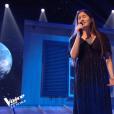 """Ermonia, Talent d'Amel Bent - finale de """"The Voice Kids 5"""", 7 décembre 2018, TF1"""