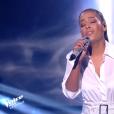 """Amel Bent, finale de """"The Voice Kids 5"""", 7 décembre 2018, TF1"""