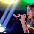 """Patrick Fiori et son Talent Carla - finale de """"The Voice Kids 5"""", TF1, 7 décembre 2018"""
