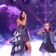 """Jenifer et son Talent Emma - finale """"The Voice Kids 5"""", TF1, 7 décembre 2018"""
