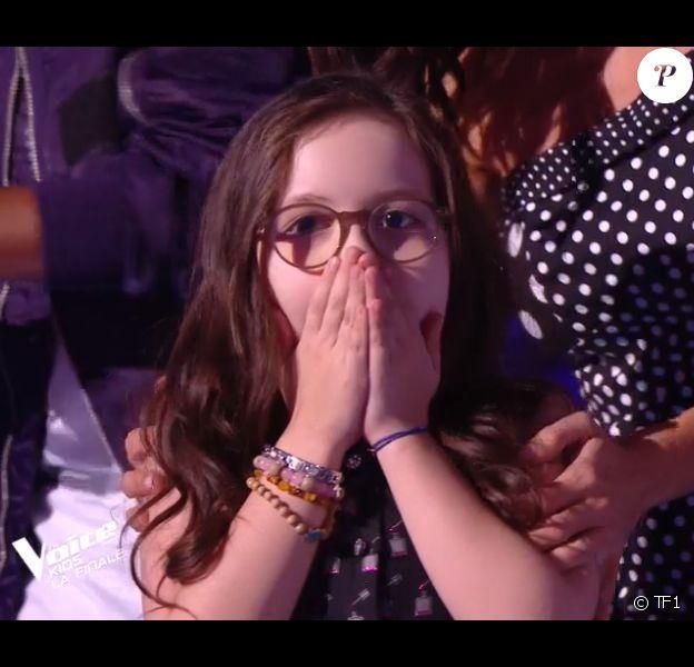 """Emma, le Talent de Jenifer, gagnante de """"The Voice Kids 5"""", 7 décembre 2018, TF1"""