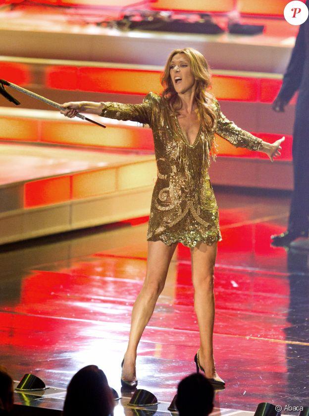 Céline Dion au Caesars Palace de Las Vegas, le 15 mars 2011
