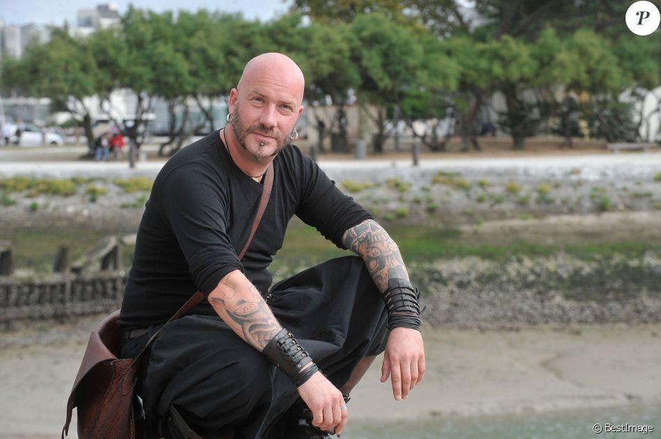 Luc Arbogast pose à La Rochelle, le 12 septembre 2013.