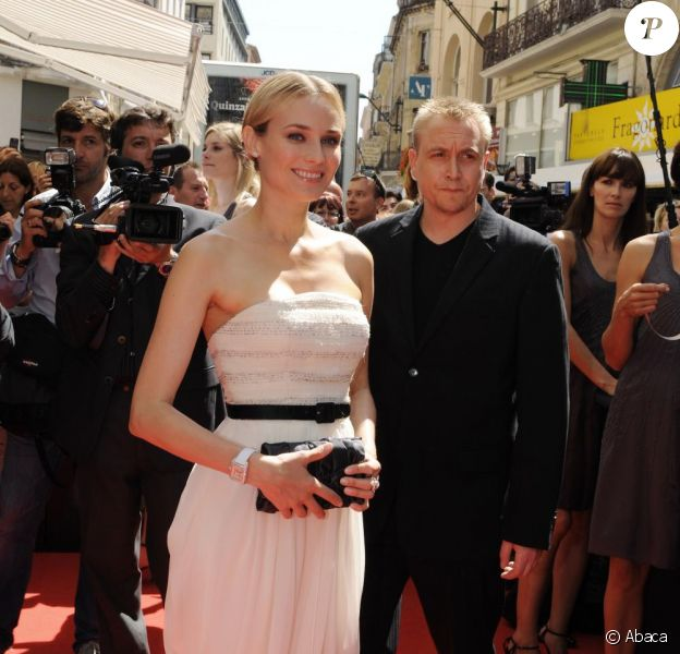 Diane Kruger, lors de l'inauguration de la boutique Jaeger-LeCoultre, le 19 mai 2009, à Cannes !