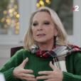 """Véronique Sanson face à Laurent Delahousse - diffusion le 16 décembre 2018 sur France 2 dans """"20h30 le dimanche""""."""