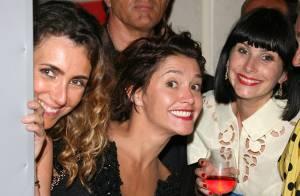 Emma de Caunes, Cécile Cassel, Mélanie Laurent et Julien Doré ont chanté... devant Sharon Stone !